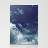 Dreamy Clouds I Stationery Cards