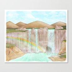 Rainbow / Waterfalls Canvas Print