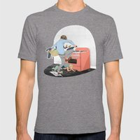 Do The Lego Twist Mens Fitted Tee Tri-Grey SMALL