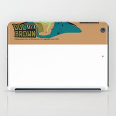 Doc Brown_INK - Back to the Future iPad Case