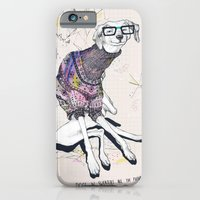 dog iPhone & iPod Cases featuring Dog by Anion