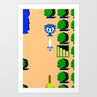 Minion's Last Rites: Zelda's Octorok Art Print