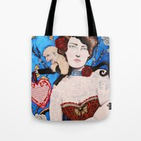 Augusta -- The Tattooed … Tote Bag