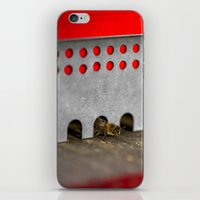 The Bee has the entry of the hive iPhone & iPod Skin