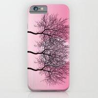 Triplet Trees In Pink iPhone 6 Slim Case