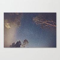 Smoke Burned Canvas Print