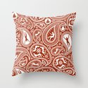 People Paisley Throw Pillow