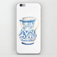 Handmade Ceramic iPhone & iPod Skin