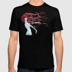 Septoid Mens Fitted Tee Black SMALL