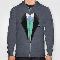 Shirt & Tie: Tux 1 Hoody