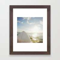 Surfboard Framed Art Print