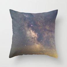 Sagittarius and the Galactic core Throw Pillow