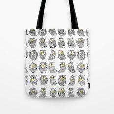 Sleepy Owls Tote Bag