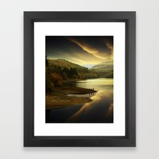 Derwent Sunset Framed Art Print