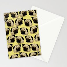Pug Dogs Stationery Cards