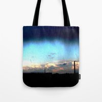 Cave from clouds.  Tote Bag