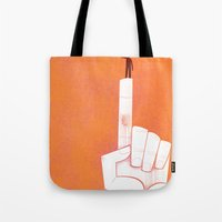 the point is my heart Tote Bag