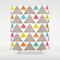 SHIMONI 3 Shower Curtain