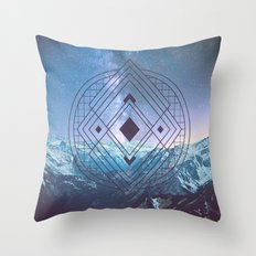 Sacred Geometry Universe 7 Throw Pillow