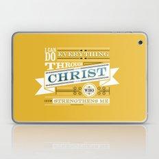 Philippians 4:13 Laptop & iPad Skin