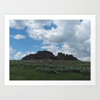 Big Horn Prairie  Art Print