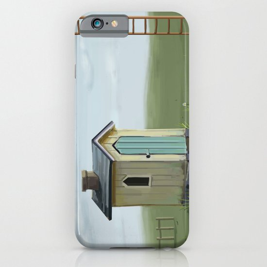 sky ladder iPhone & iPod Case