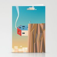 Off the edge Stationery Cards