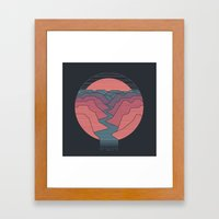 Canyon River Framed Art Print