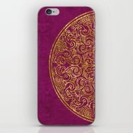 iPhone & iPod Skin featuring Purple Luxury by LebensART