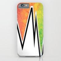 iPhone & iPod Case featuring Lightening by Laurkinn12