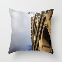 Tides of Time and Men Throw Pillow