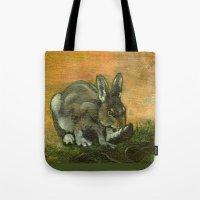 BunnyFoot Tote Bag