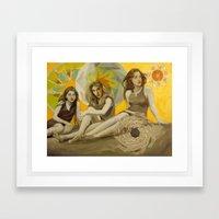 Stone Harbor Framed Art Print