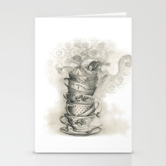Tea bath Stationery Card