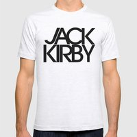 Classic : Jack Kirby Mens Fitted Tee Ash Grey SMALL