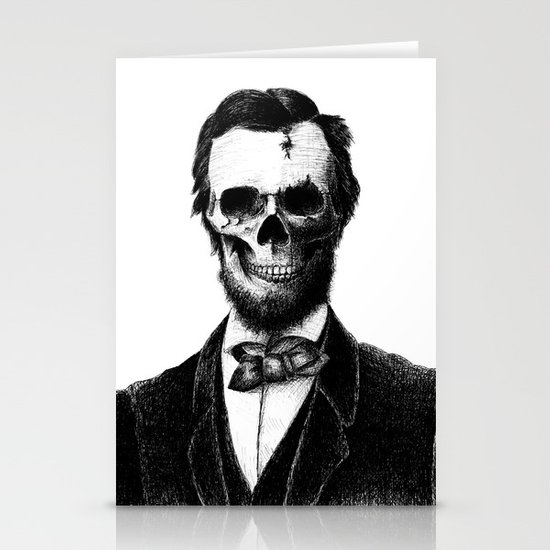 Abraham Lincoln Stationery Card