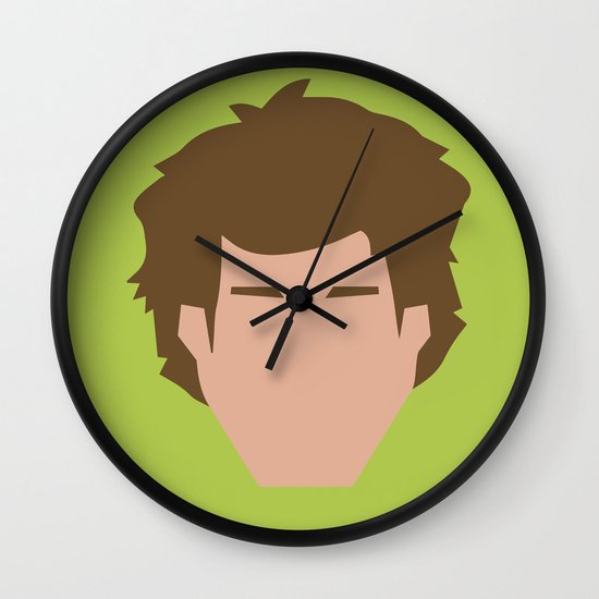Star Wars Minimalism - Han Solo Wall Clock
