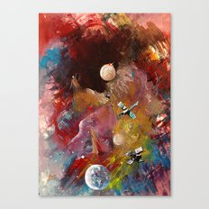 yeryüzünün dışında Canvas Print