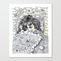 Napping In... The Twilight Zone Canvas Print