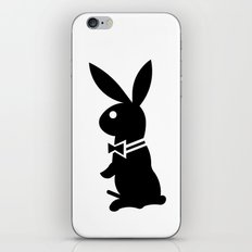 playboy horny rabbit  iPhone & iPod Skin