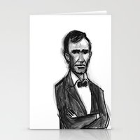Abraham Lincoln Don't Ha… Stationery Cards