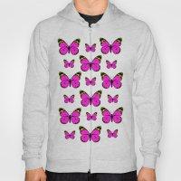 More Butterflys Hoody