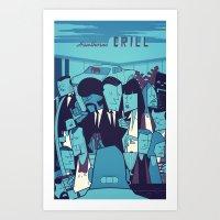 PULP FICTION Variant Art Print
