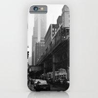 El On A Foggy Day Chicag… iPhone 6 Slim Case