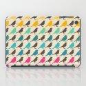 Colorful birds pattern iPad Case
