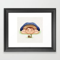 Caracol Framed Art Print