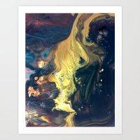 Night Tides Art Print