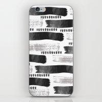Brush Strokes #2 iPhone & iPod Skin