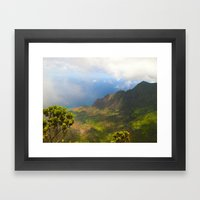 Waimea Canyon, Kauai Framed Art Print