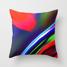 Seismic Folds Throw Pillow